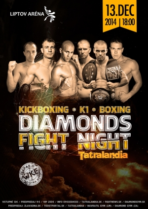 DIAMONDS FIGHT NIGHT TATRALANDIA