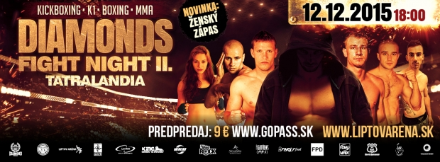 DIAMONDS FIGHT NIGHT II - program.